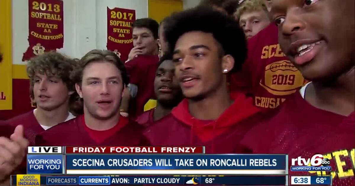 Friday Football Frenzy: Scecina High School