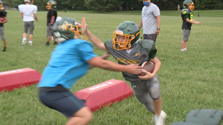 Youth tackle football resumes in Anne Arundel County