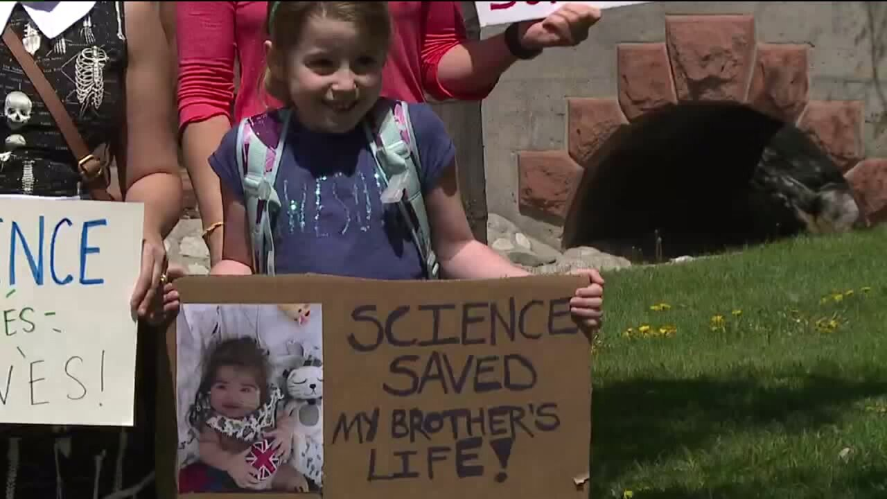 Thousands of Utahns join worldwide March ForScience