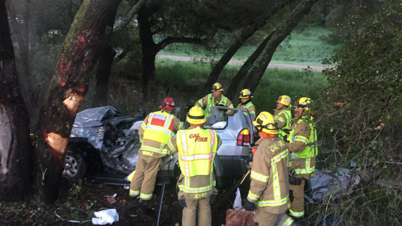 Icy, wet roads and speed to blame in fatal Ramona crash, CHP
