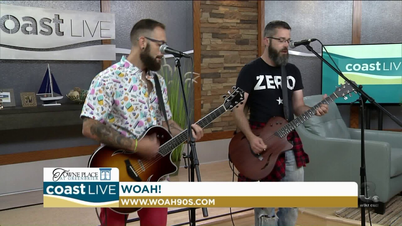 Local music spotlight with WOAH! on Coast Live