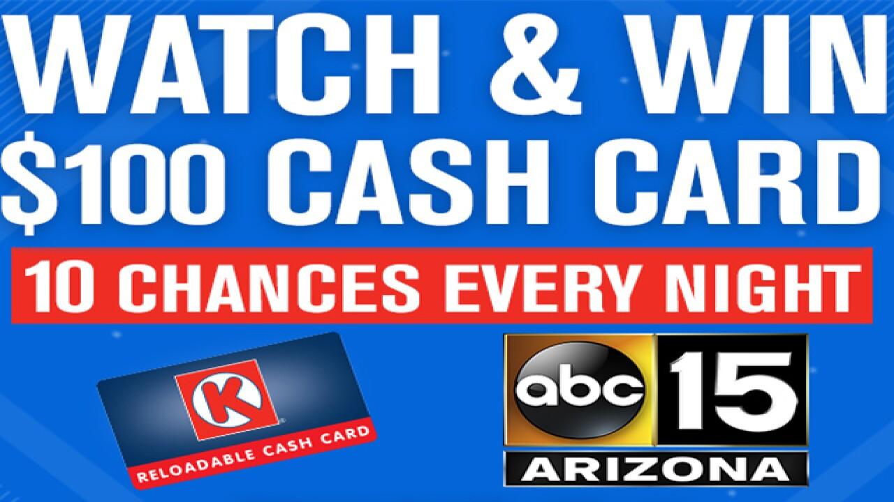 Win a $100 Circle K cash card!