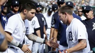 Nicholas_Castellanos_JaCoby_Jones_Minnesota Twins v Detroit Tigers