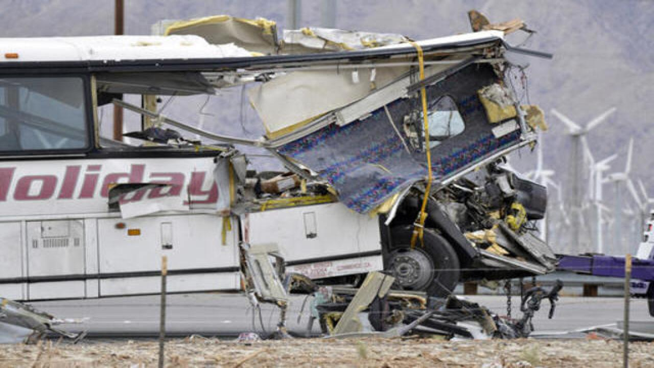 Tour bus crash one of deadliest in CA history