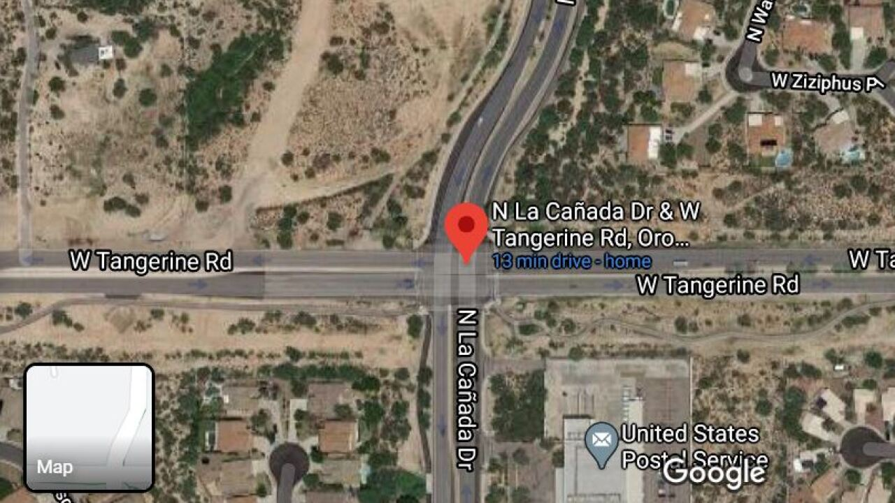 Even though work is mostly complete, traveling on La Canada north of Tangerine will get further restrictive during Amphi's Spring Break.