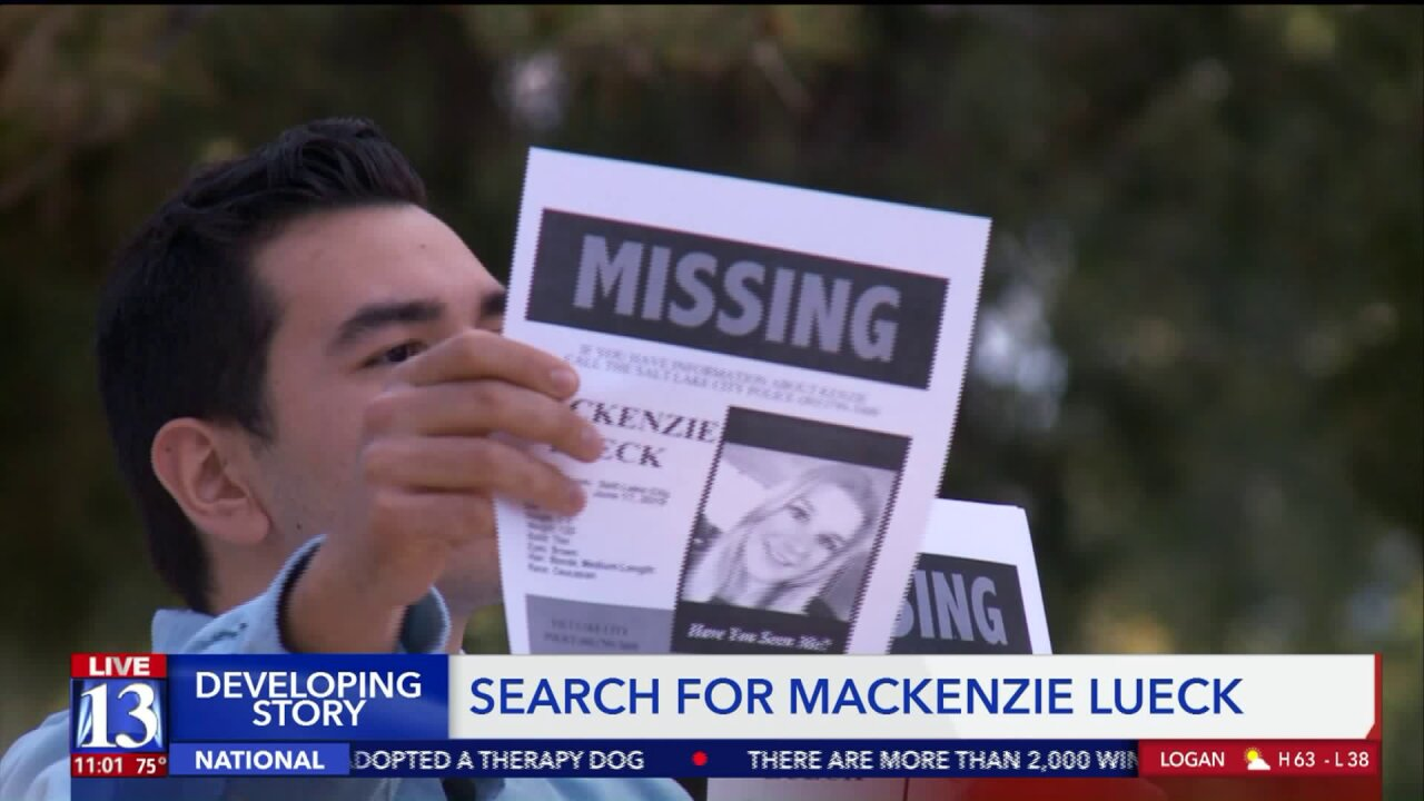 Detectives revisit location where MacKenzie Lueck was last seen