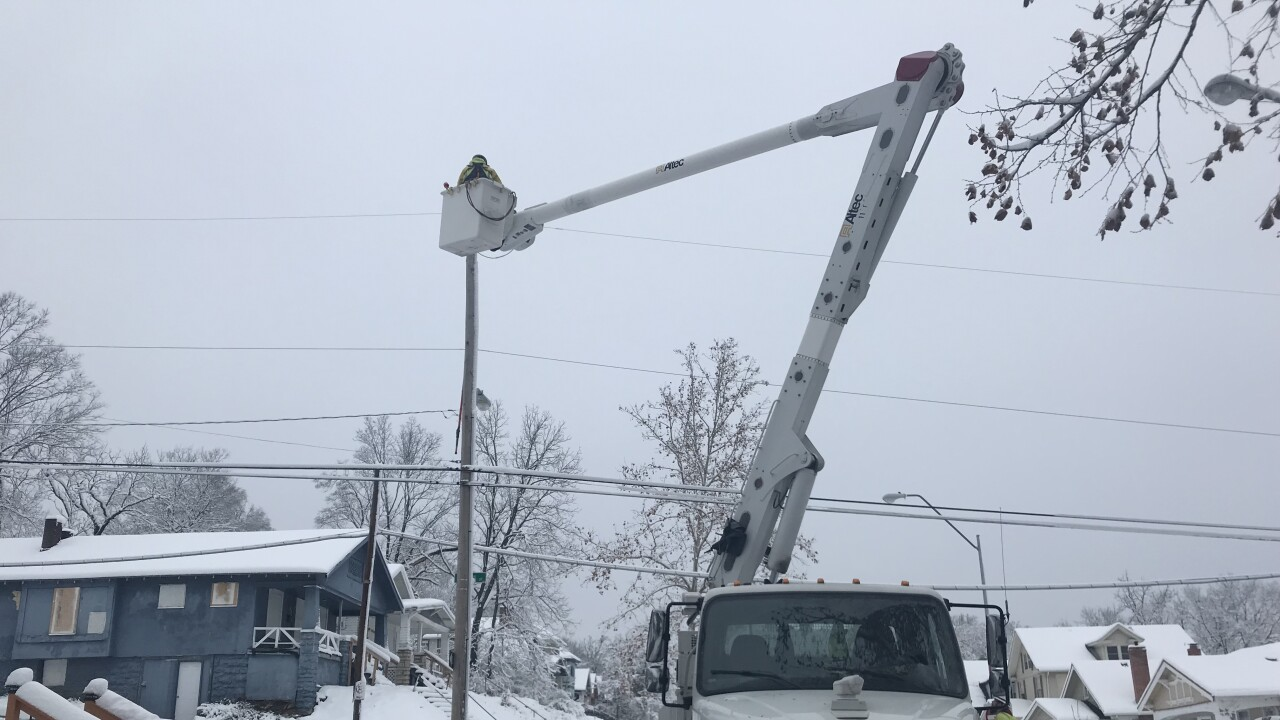Crews Continue Massive Effort To Restore Power
