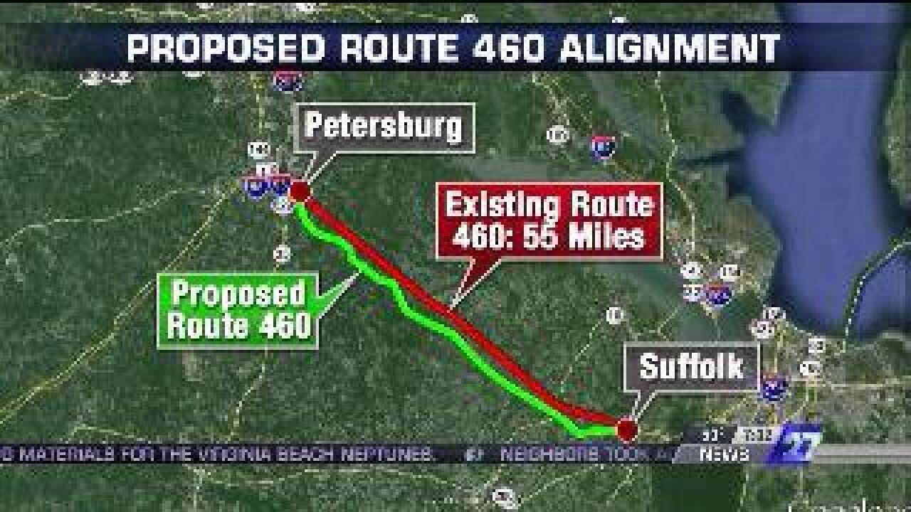 $300 million spent on Route 460 project; nothing built