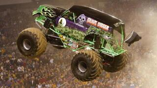 Driver of monster truck Grave Digger recovering from accident
