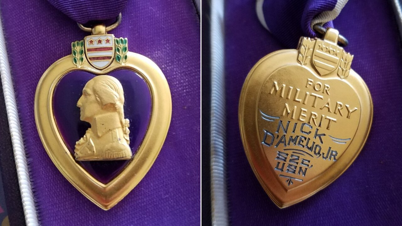 Goodwill store finds World War II sailor's Purple Heart. Now they want to find his family