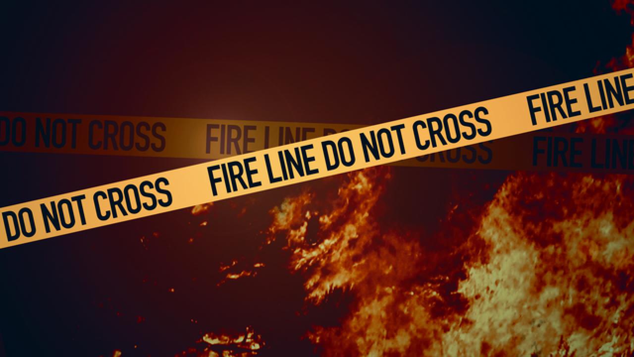 Industrial building has minor damage in fire