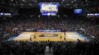 NCAA Belmot Temple Basketball