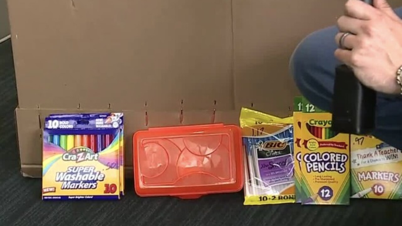 Supply drive for Las Vegas teachers begins