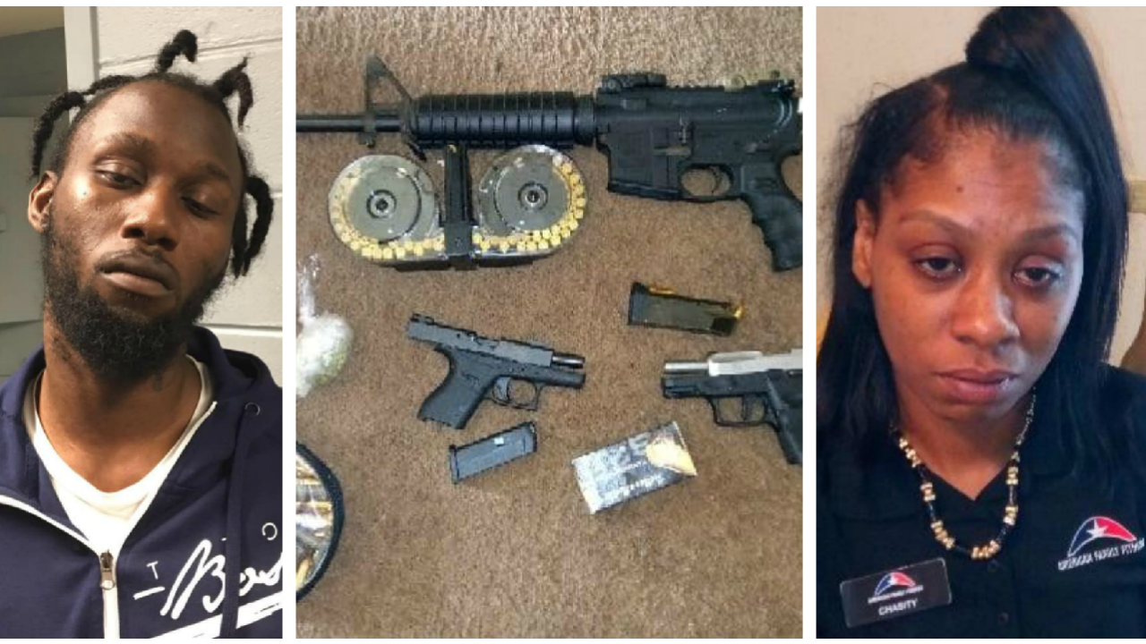 2 arrested after cocaine, guns seized in Petersburg drug raid