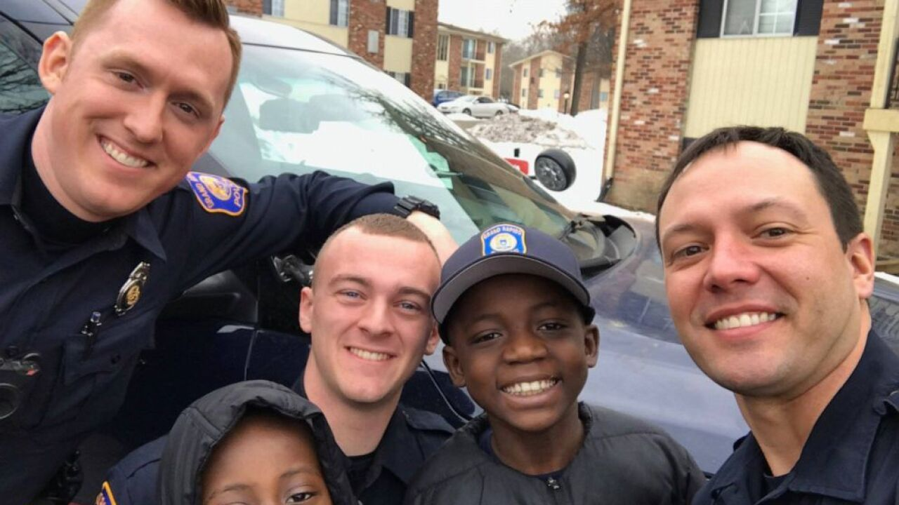Police Officer Throws 9 Year Old Boy Surprise Party After No One Showed Up To His Birthday