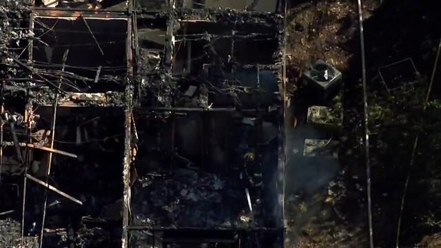PHOTOS: Sky 5 Flies Over Nippers Corner Apartment Fire
