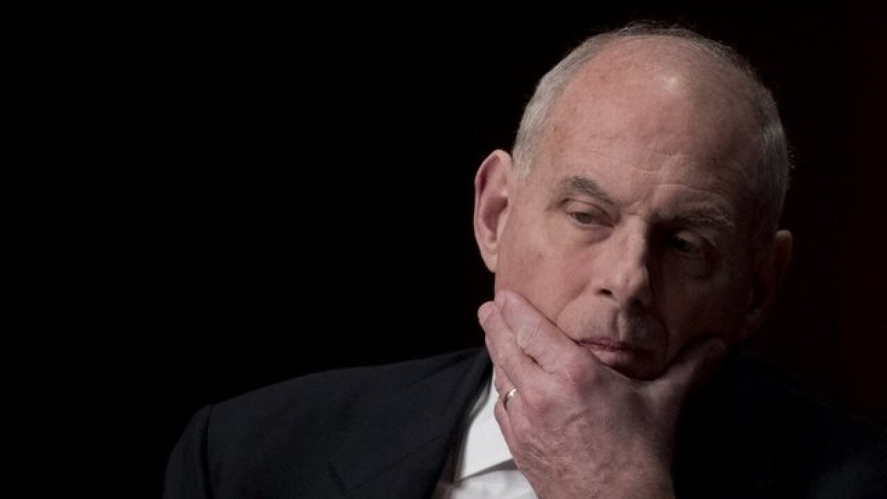 John Kelly says President Trump has asked that he remain as chief of staff through 2020