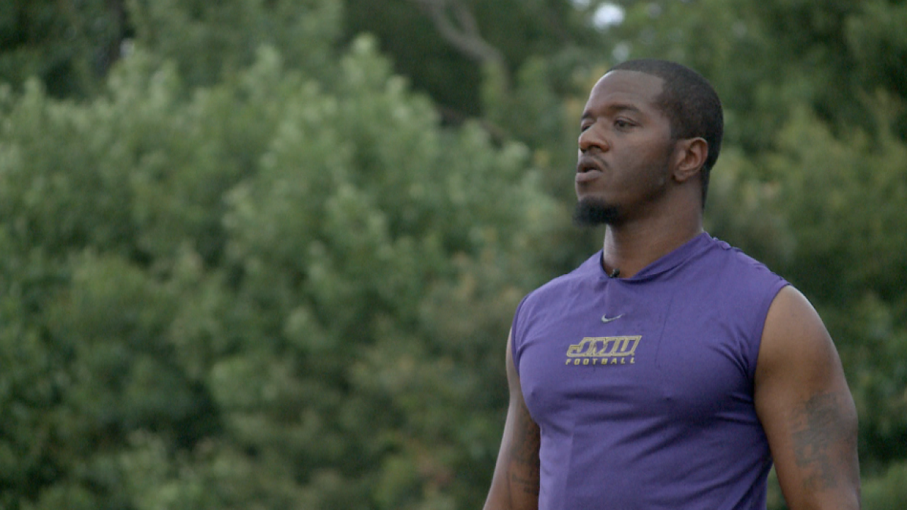 Former James Madison star Eugene Holloman finds a new purpose after one chapter closes