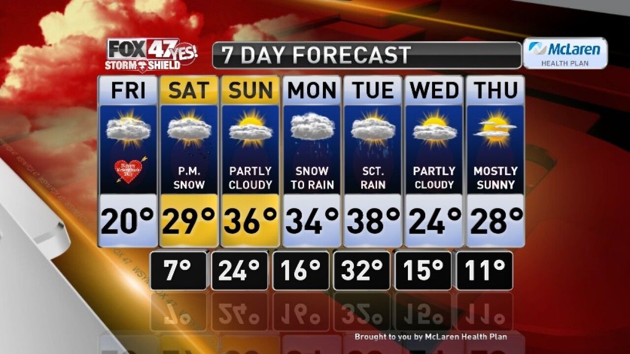Claire's Forecast 2-14