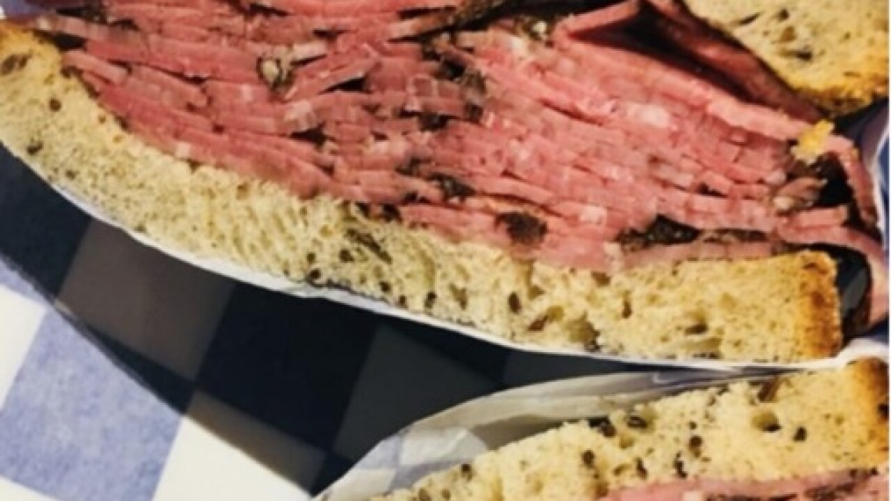 New York Jewish Deli sandwiches in Bakersfield this weekend