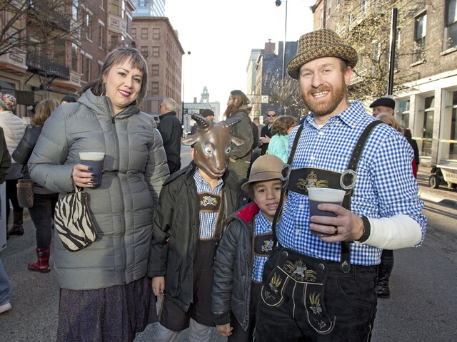 Bockfest celebrates its 25th year, and you never sausage a sight