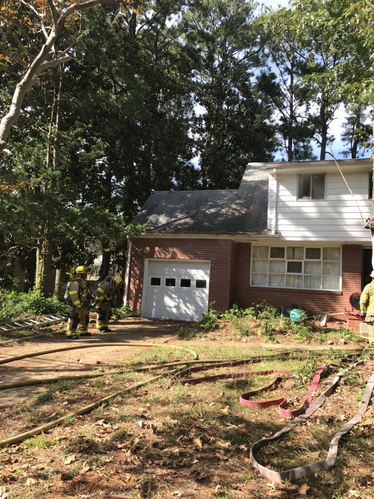 Photos: Norfolk Fire-Rescue responds to 2-story residential fire