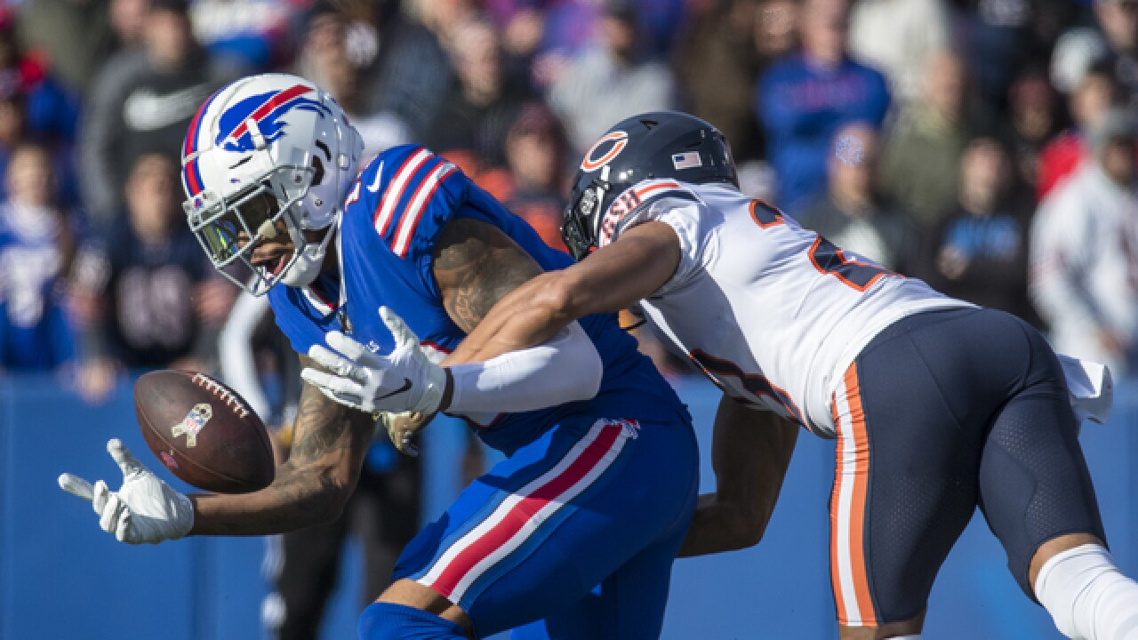 Joe B: 7 observations from Buffalo Bills vs. Chicago Bears (11/4/18)