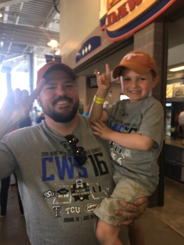 Father's Day at the ballpark: 2017 College World Series