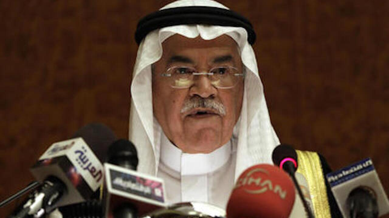 Saudi Arabia removes longtime oil minister