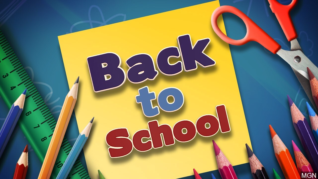Ingleside Police Department back to school supply