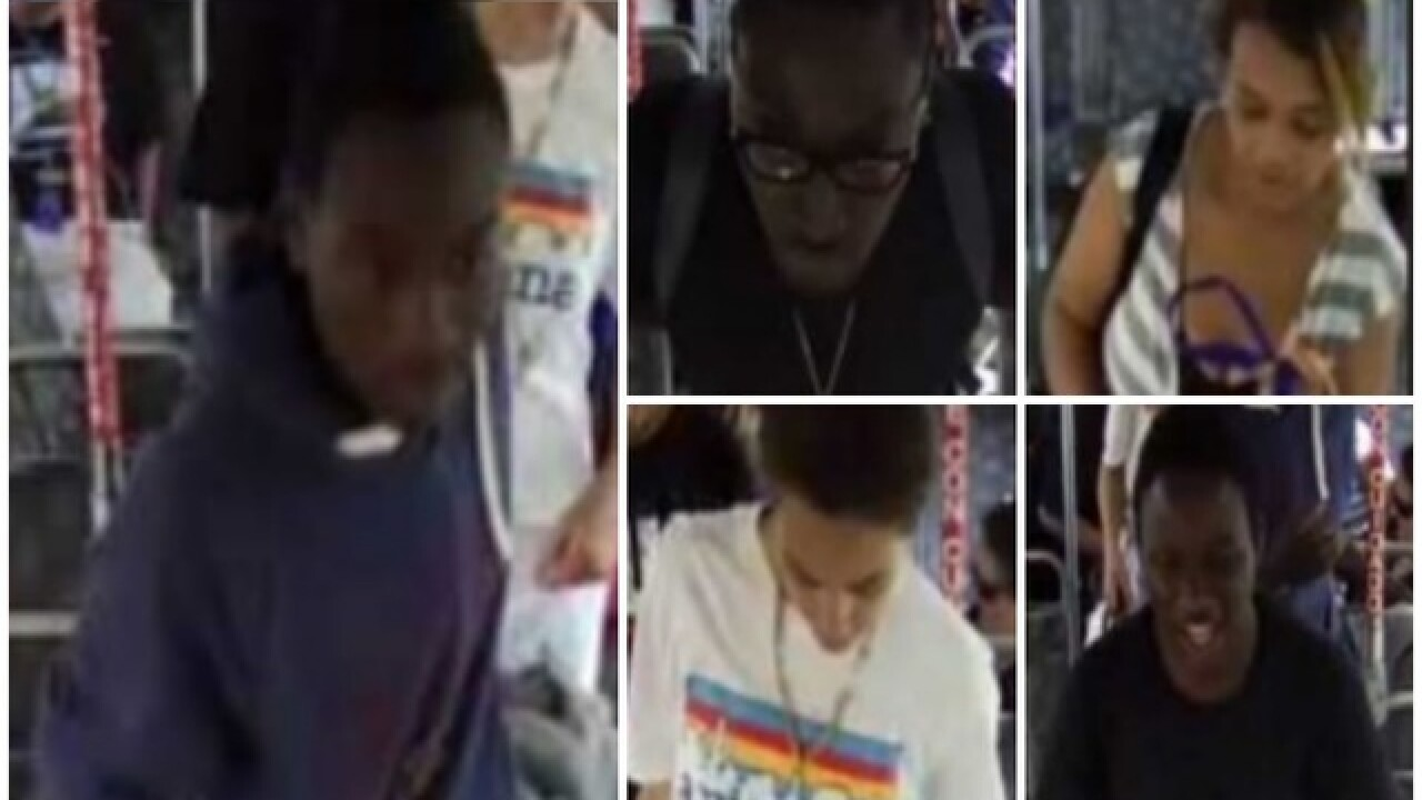 PD: 3 men, 2 women robbed man on bus and assaulted him in Phoenix
