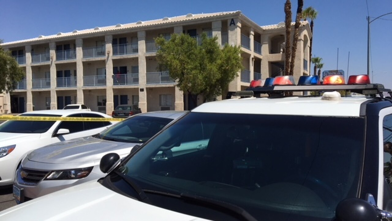 Person dead in Monday shooting involving LVMPD