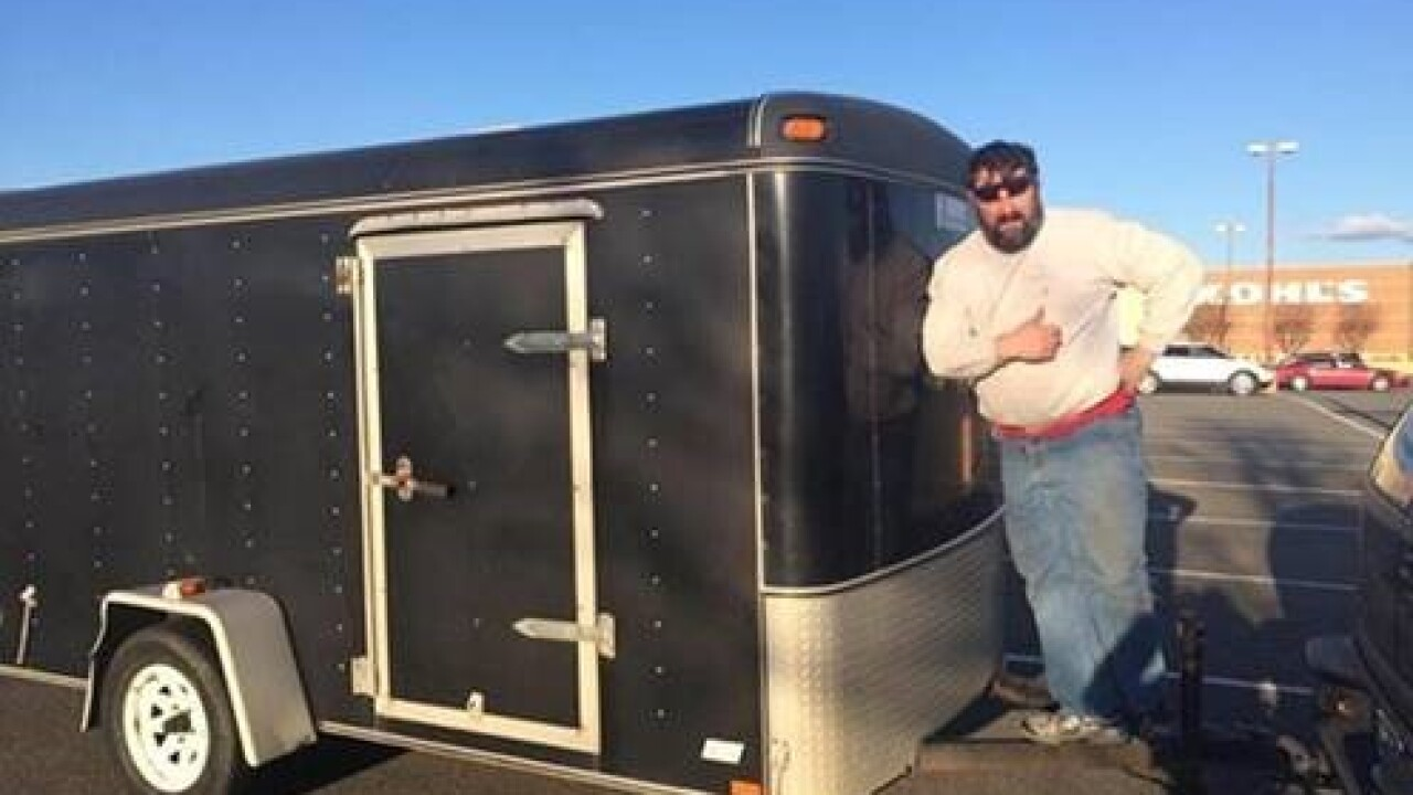 Cargo trailer, $12,000 worth of sports gear stolen inNorfolk