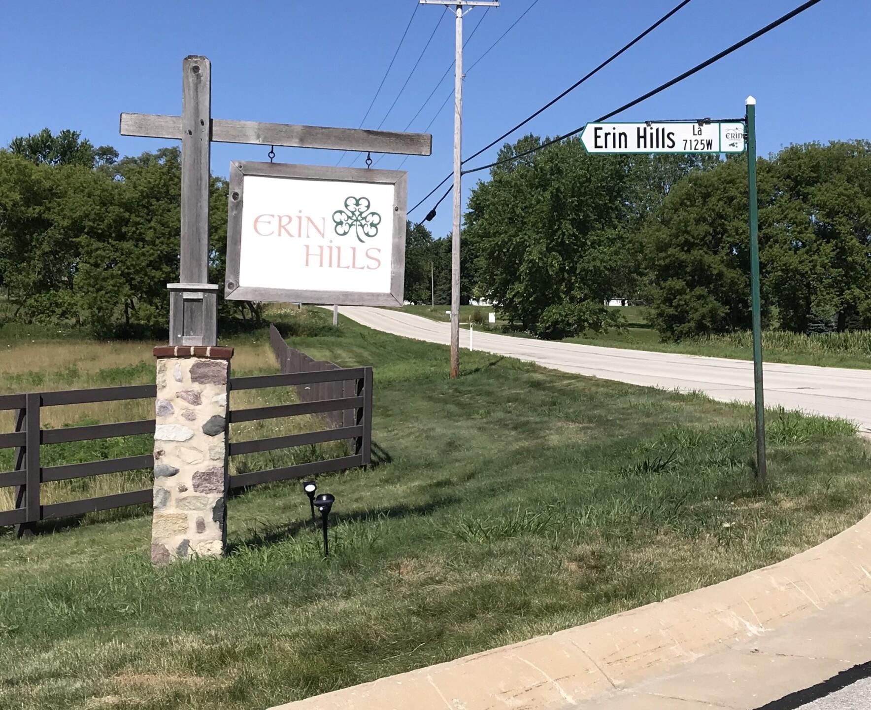 Erin Hills Golf Sign