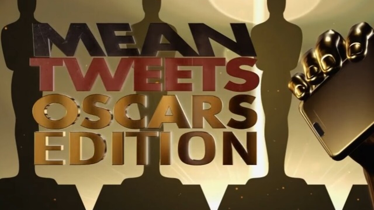VIDEO: Jimmy Kimmel brings 'Mean tweets' to the Academy Awards