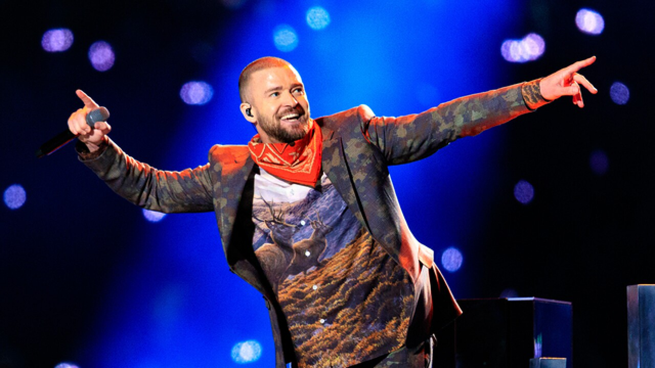 Justin Timberlake announces show at Pepsi Center in Denver