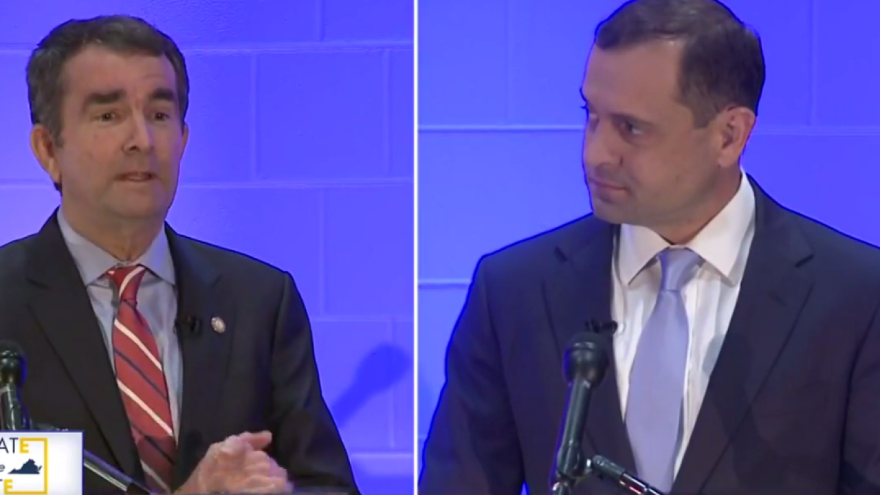 Watch: Democratic candidates for Virginia Governor face off indebate