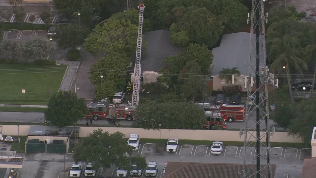 Delray Beach fire where woman found dead inside abandoned home