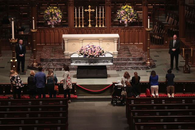 Photos: Funeral, visitation for former First Lady Barbara Bush