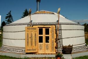 Yurt at the Inn at Cedar Falls