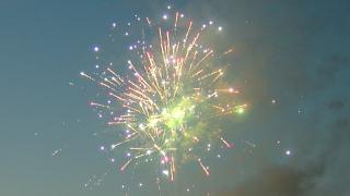 Transit Drive-in fireworks