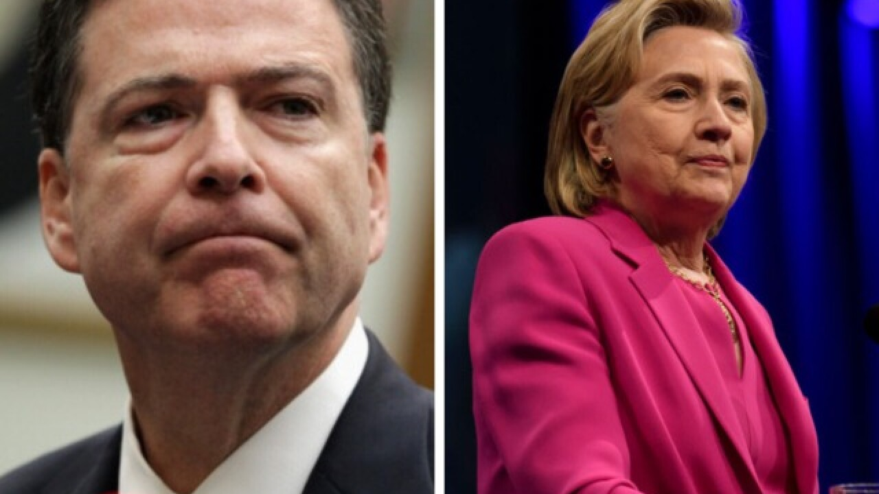 New York Times: President Trump wanted to order prosecution of Hillary Clinton, James Comey
