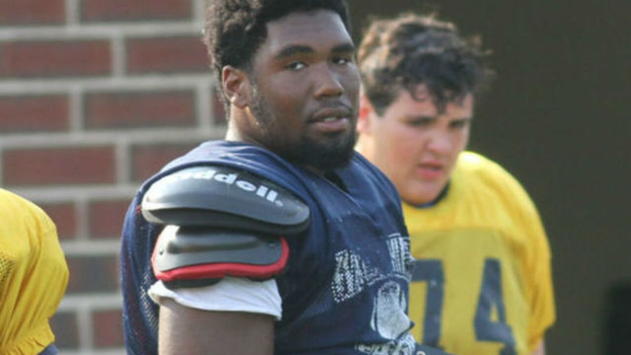 Walnut Hills defensive tackle Jowon Briggs commits to the Under Armour All-America Game