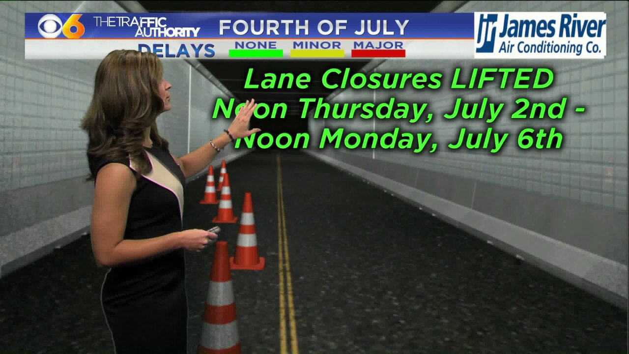 WATCH: Holiday weekend travelinformation