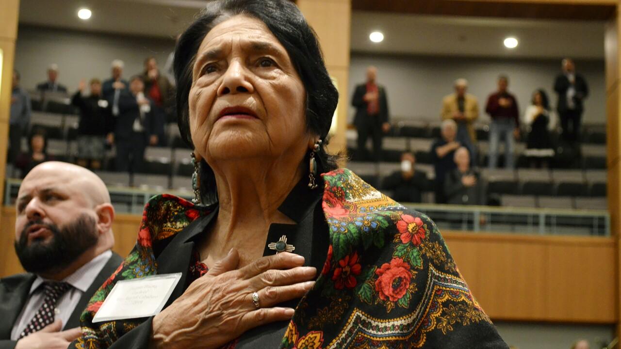 Delores Huerta (AP)