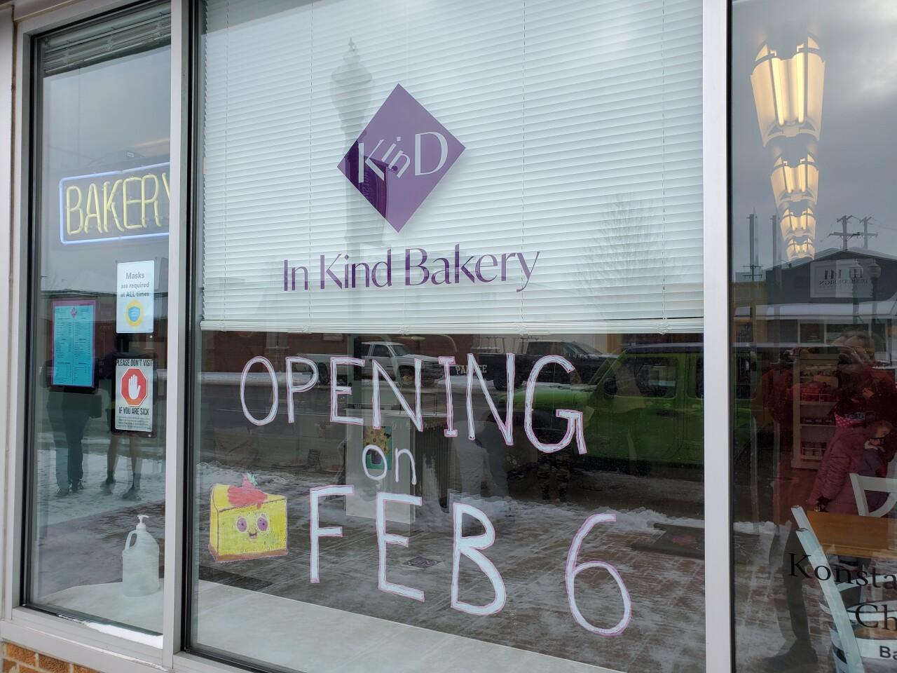 In Kind Bakery Williamston Michigan