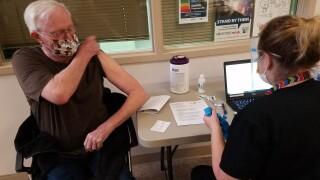 Montana VA COVID vaccination clinic