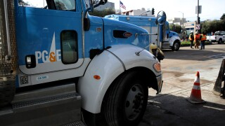 PG&E Truck