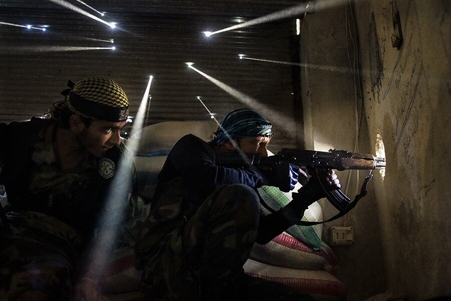 2012 Feature, Inside a Sniper's Nest