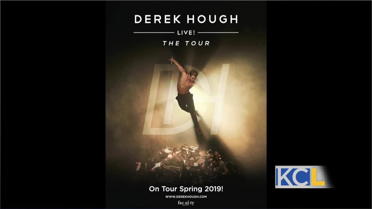 Derek Hough on 'World of Dance' and spring tour in KC